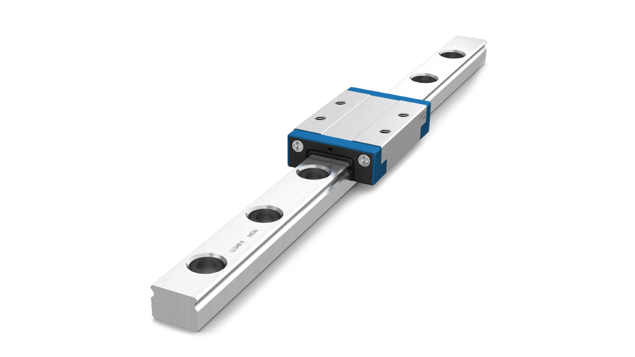 The new LLS series of miniature linear guideways from Ewellix are extremely compact and promise great smoothness.